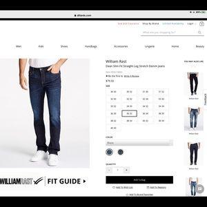 William Rast Dean Slim Straight-Leg Stretch Jeans